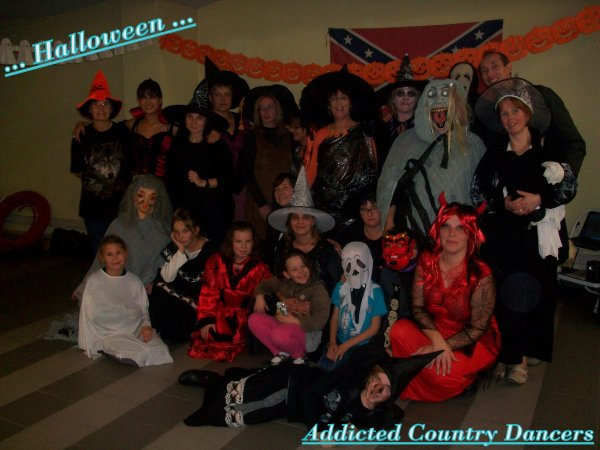 "Halloween chez les "" Addicted Country Dancers "" le 31 Octobre 2011"