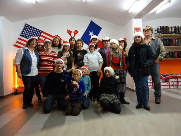 """Noël chez les """" Addicted Country Dancers """" le 26 Décembre 2011"""