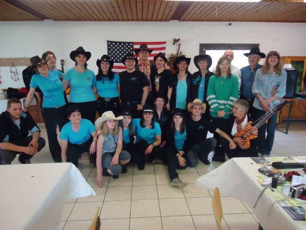 Animation Addicted Country Dancers le 25 Mars 2012 à Bourdon