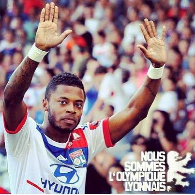 Michel Bastos dit au revoir aux fans de l'Olympique Lyonnais