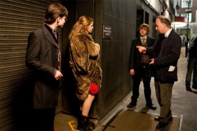 Photos du tournage de HARRY POTTER
