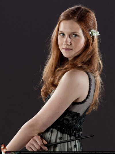 Ginny Weasley/Bonnie Wright