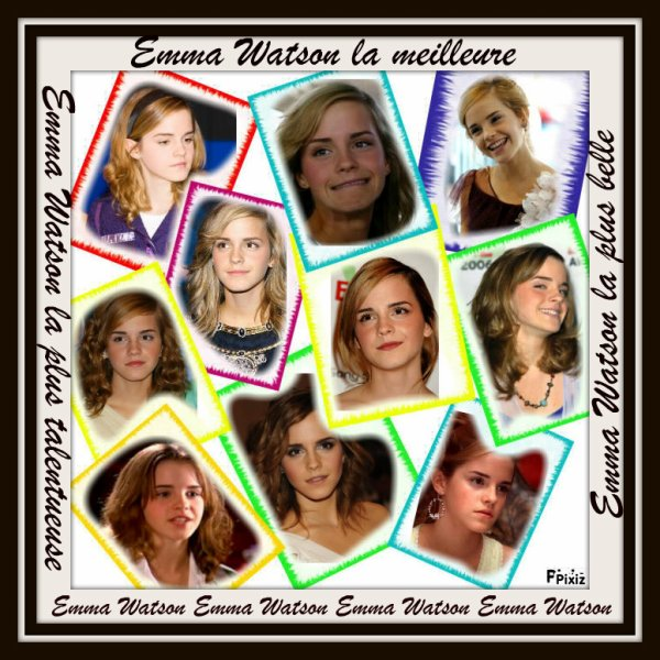 Montage d'Emma Watson by me :)