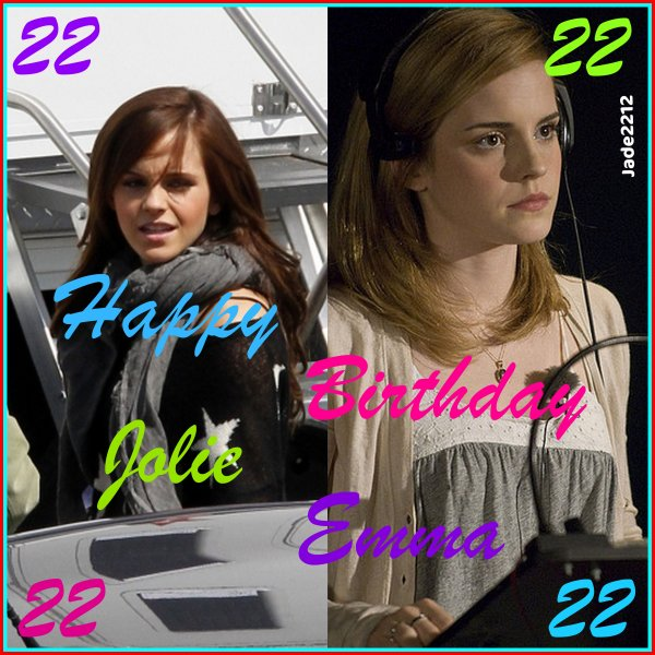 Happy Birthday Emma ♥
