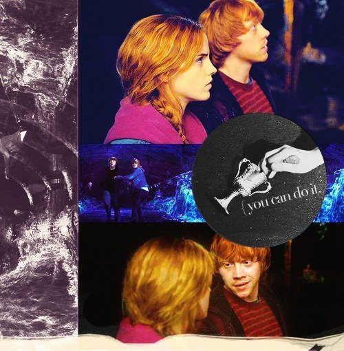 ~You can do it.~ Ronald Weasley, les Reliques de la Mort, 2ème partie.