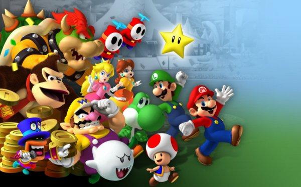 Mario et ces amis