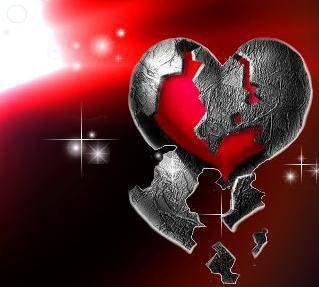 ---------------- un coeur qui souffre --------------