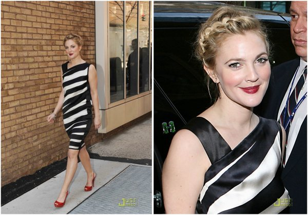 Drew Barrymore quitte les studios ABC. New York