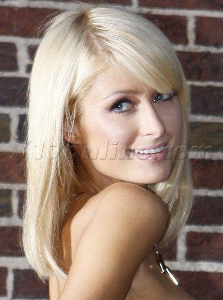 Paris Hilton de sortie.