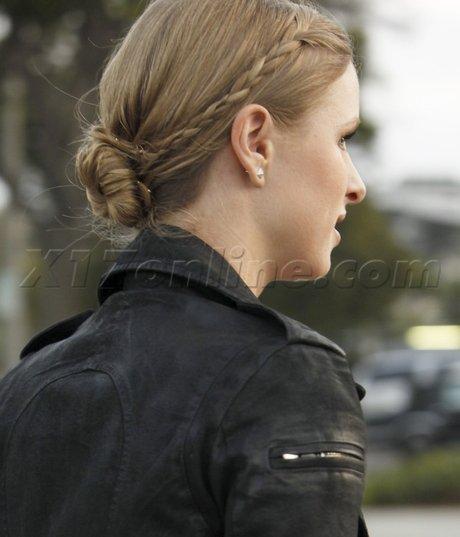 Idée de coiffure : Nicky Hilton.