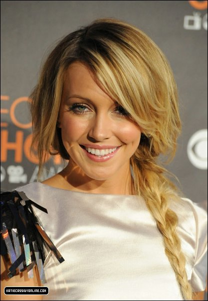 Katie Cassidy (Melrose Place) aux People's Choice Awards.