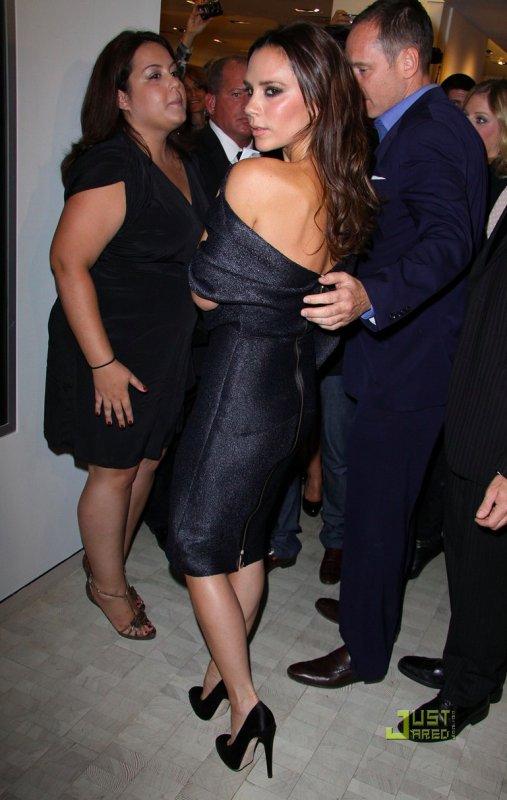 2010 Fashion's Night Out  Victoria Beckham et Nicole Richie à New York