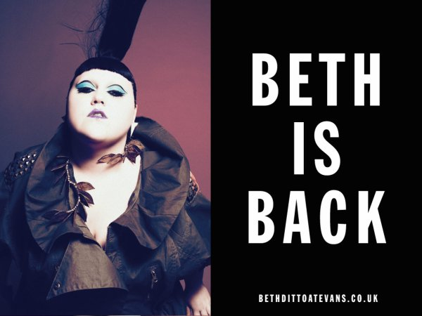 Beth Ditto pour Evans : she's back ! source : Madmoizelle.com