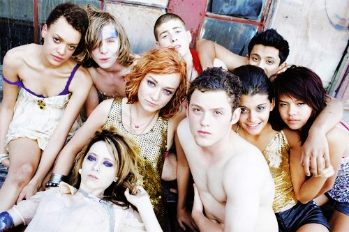 Le casting de Skins version US.
