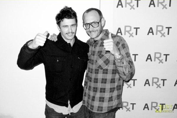 James Franco et Terry Richardson