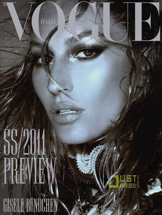 Gisele Bundchen pose pour Vogue.