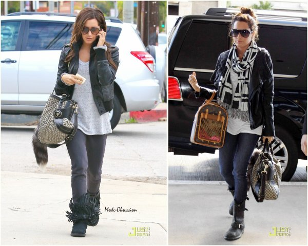 3 tenues d'Ashley Tisdale.