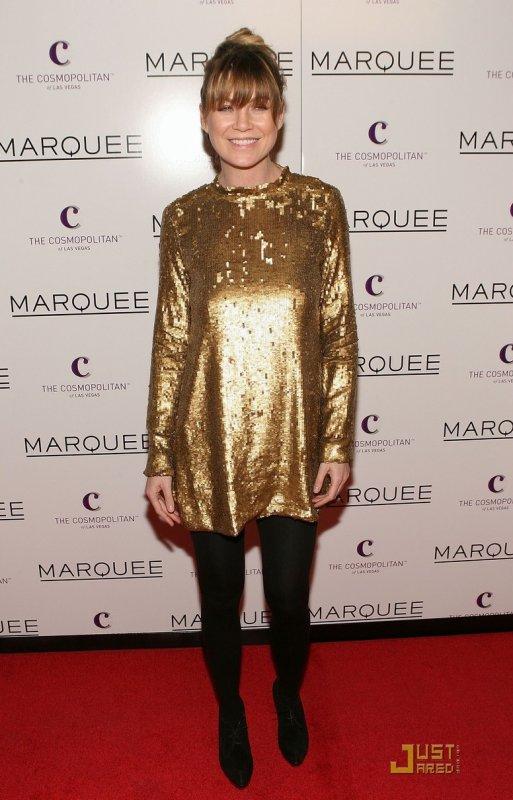 Ellen Pompeo à l'ouverture d'un club. Las Vegas