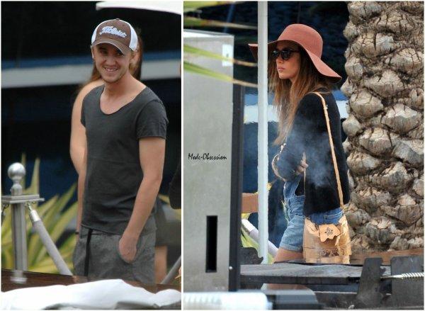 Tom Felton (Harry Potter) et sa copine Jade Olivia de sortie.