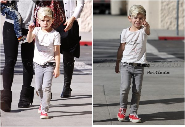 J'aime la manière dont Gwen Stefani habille ses fils ! (ici l'ainé Kingston).