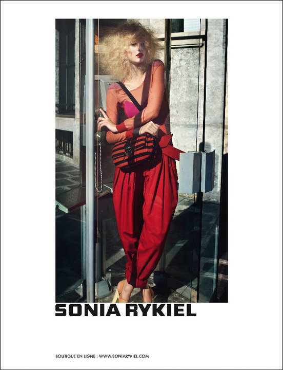Sonia Rykiel  printemps - été 2011