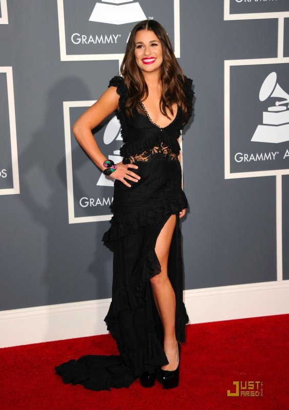 meilleures baskets af8f4 196a1 Lea Michele et Jennifer Lopez Grammy Awards 2011 - ♥ LOVE ...