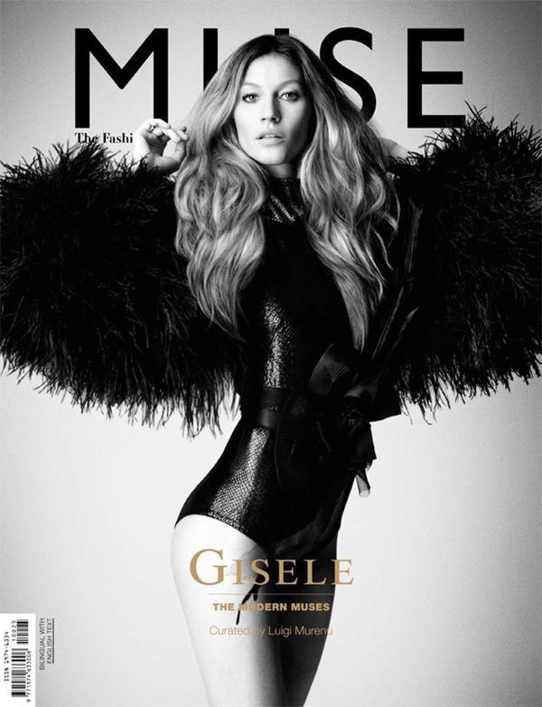 Gisele Bundchen pose pour Muse.