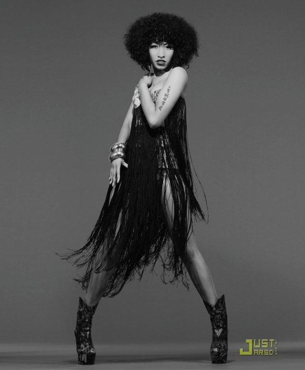 Nicki Minaj pose pour Blackbook.