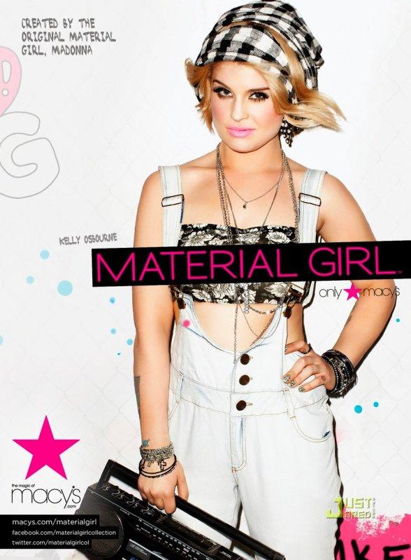Kelly Osbourne est la nouvelle égérie de Material Girl.
