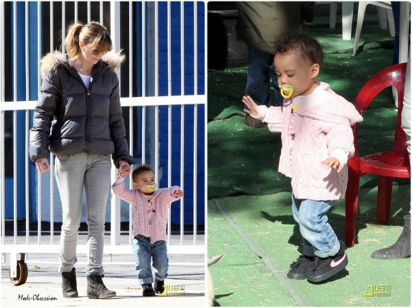 Ellen Pompeo de sortie avec sa fille Stella.