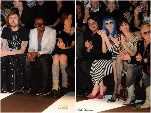 Fashion Week de Paris  défilé Jean Charles de Castelbajac