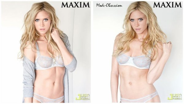 Brittany Snow pose pour Maxim.