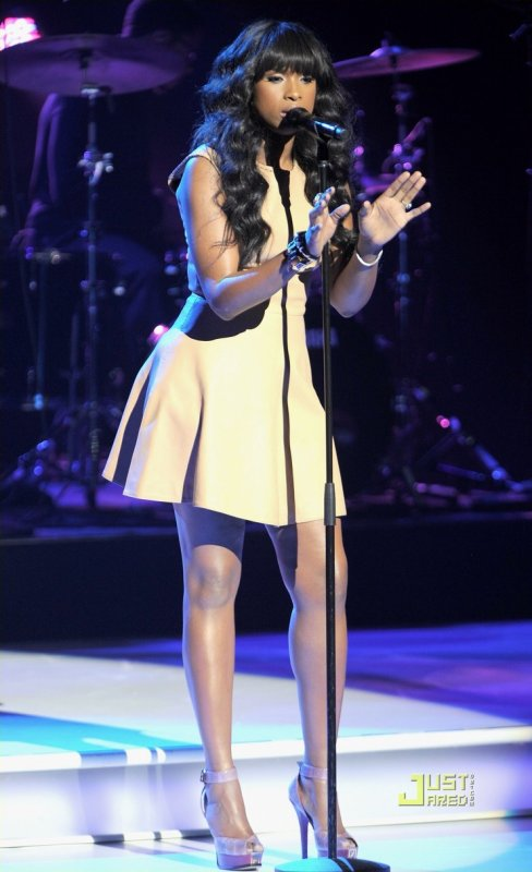 Jennifer Hudson en live à New York. 2011 Nickelodeon Upfront Presentation