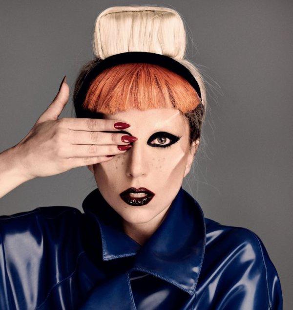 Lady Gaga pose pour I-D.