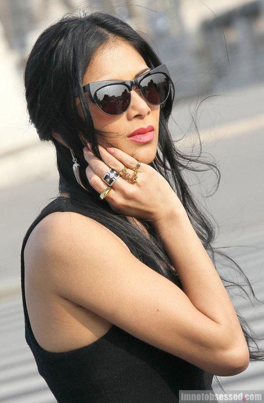 Nicole Scherzinger de sortie. Paris