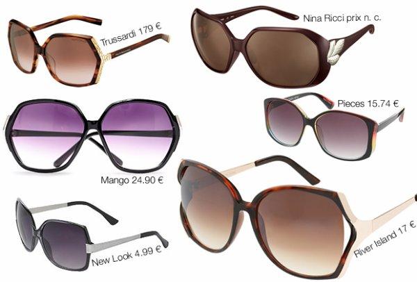 Lunettes de soleil : toutes les tendances de cet été ! source : Madmoizelle.com