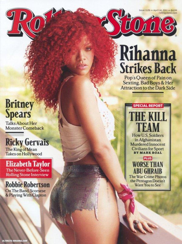 Rihanna pose pour Rolling Stones.