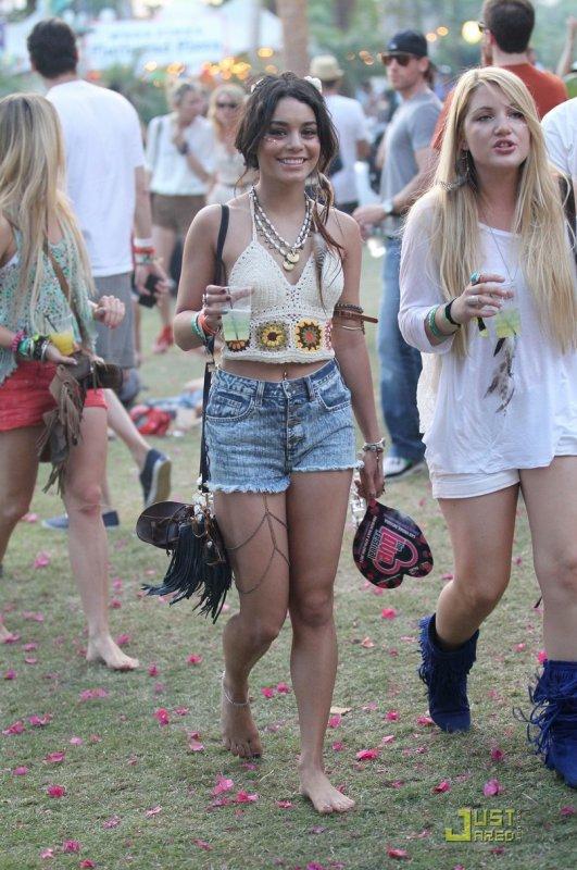 Coachella Music Festival  Vanessa Hudgens