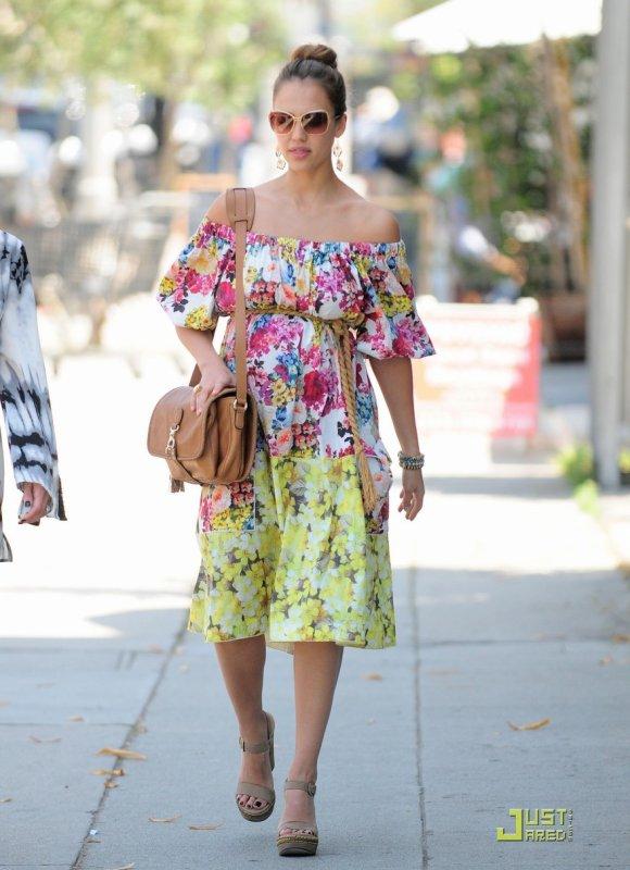 Jessica Alba de sortie. West Hollywood