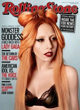 Lady Gaga pose pour Rolling Stone.