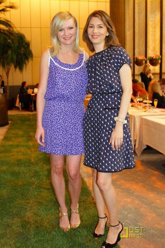 Kirsten Dunst et Sofia Coppola à un évènement de la marque Chanel.