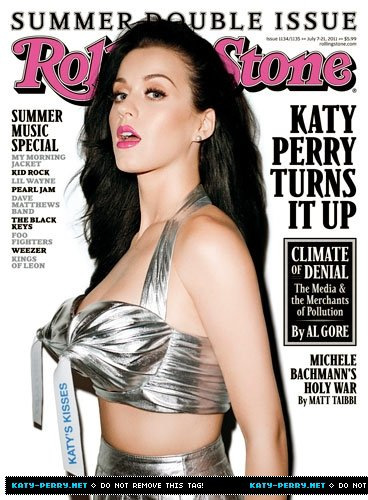 Katy Perry pose pour Rolling Stone.