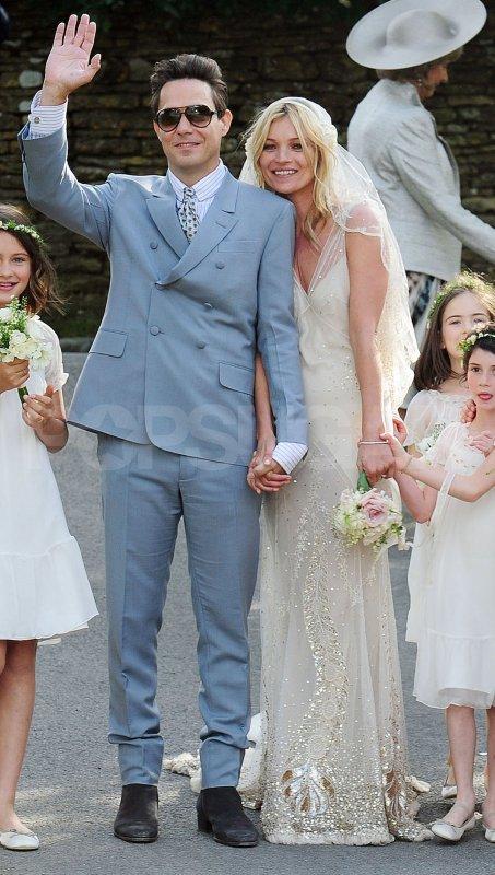 Mariage de Kate Moss et Jamie Hince (l)