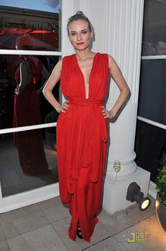 Diane Kruger, Fergie et Marc Jacobs au gala amfAR Inspiration. Paris
