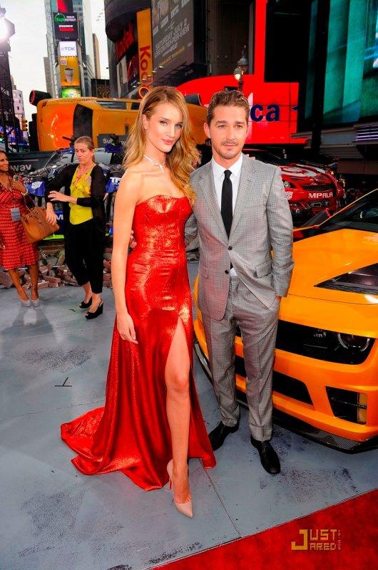 Première de Transformers à New York.