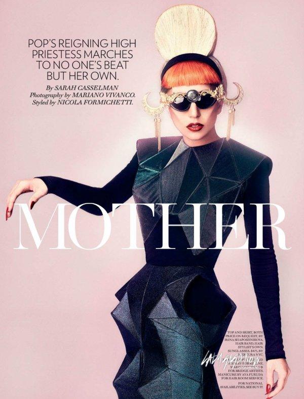 Lady Gaga dans la presse.
