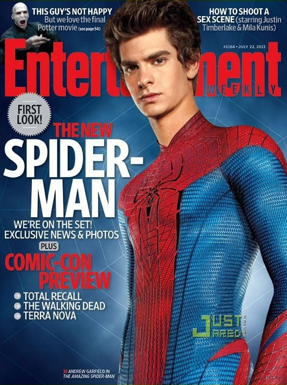 Andrew Garfield : le nouveau Spiderman.