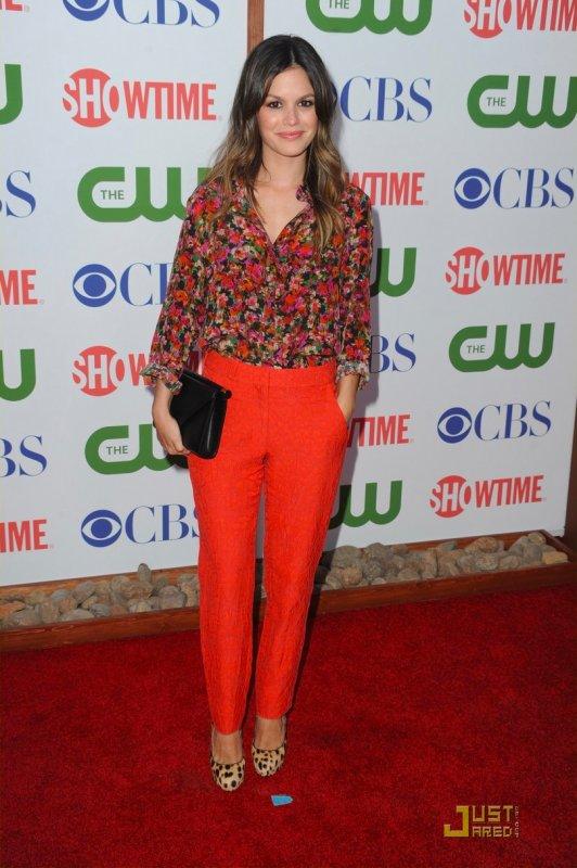 Rachel Bilson à un évènement à Beverly Hills. The CBS, The CW and Showtime TCA Party
