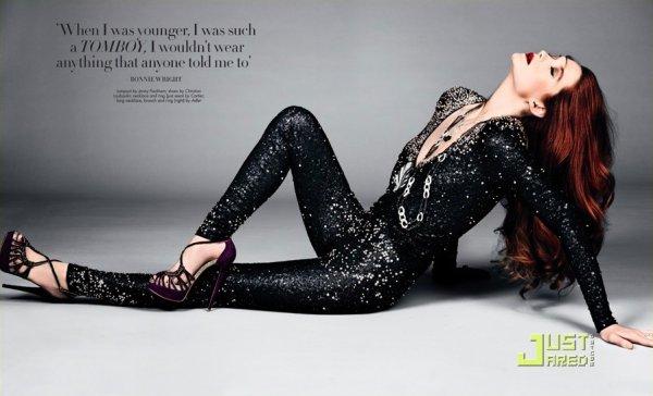 Bonnie Wright pose pour Haute Muse.