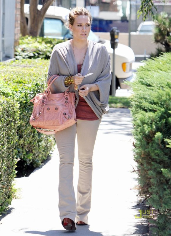 Hilary Duff de sortie. North Hollywood